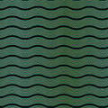 Art deco wave pattern an style background containing a seamless repeatable swatch Stock Photography