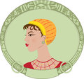 Art Deco Woman Stock Images