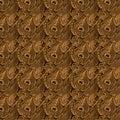 Art- DecoPfau-Hintergrund Lizenzfreies Stockbild