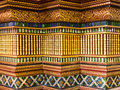 Art and decoration in temple thailand Royalty Free Stock Photography