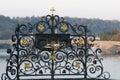 Art details of Charles Bridge -  Prague Royalty Free Stock Photo