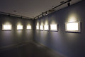 Art exhibition Royalty Free Stock Photo