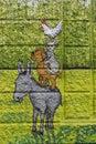 Arte, caballo como hierba