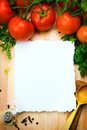 Art food background healthy cooking Stock Photography