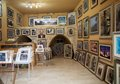 Art gallery of jewish arts in safed israel in the s and s safed was known as israel s capital the artists colony established Royalty Free Stock Photography