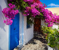 Art greece santorini landscape Royalty Free Stock Photo
