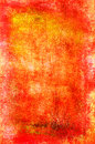 Art grunge background in red, orange and yellow colors