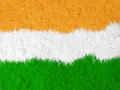 Indian national flag colors background