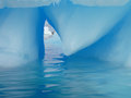 Art ice a natural sculpture in antarctica Royalty Free Stock Image