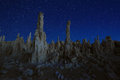 Art Landscape Image of the Tufas of Mono Lake Royalty Free Stock Photo