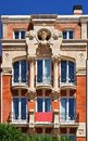 Art nouveau building Stock Photo