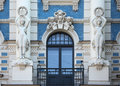 Art Nouveau building in Riga. Royalty Free Stock Photo