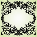 Art nouveau frame Royalty Free Stock Photo