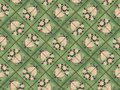 Art nouveau tiles muted colors of floral tile pattern Royalty Free Stock Image