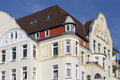 Art nouveau townhouse kiel germany Royalty Free Stock Images