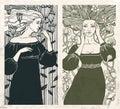 Art Nouveau Women