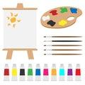 Art palette set