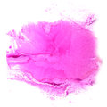 Art The pink watercolor ink paint blob watercolour Royalty Free Stock Photo