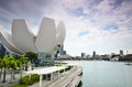 Art Science Museum as seen on in Singapore Royalty Free Stock Photo