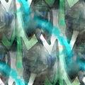 Art splash background texture blue green abstract