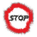 Art stop sign Stock Photo