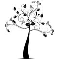 Art Tree Royalty Free Stock Photos
