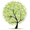 Art tree beautiful for your design Royalty Free Stock Photo