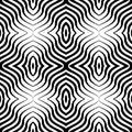 Art vector seamless geometric pattern op Photo libre de droits