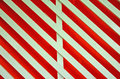Art of white lath on red background Stock Images