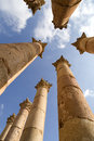 Artemis temple,Jerash Royalty Free Stock Photo