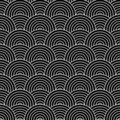 Artex weave blk Royalty Free Stock Image