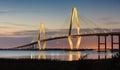Arthur Ravenel New Cooper River Bridge Charleston SC Royalty Free Stock Photo