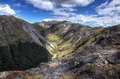 Arthur s pass national park new zealand south island Royalty Free Stock Image