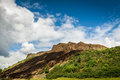 Arthur's seat, mountain Stock Photo
