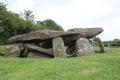 Arthurs Stone Neolithic chambered tomb Herefordshire England Royalty Free Stock Photo