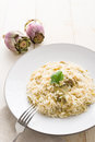 Artichoke Risotto Stock Photos