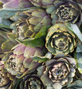 Artichokes on a market south italian Royalty Free Stock Photos