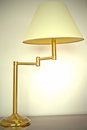 Articulated Metal Table Lamp Stock Photography