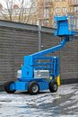 Articulating boom lift Stock Photos