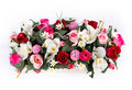 Artifical floral arrangement Royalty Free Stock Images
