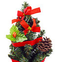 Artificial christmas tree Royalty Free Stock Photos