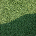 Artificial grass fake turf lawn texture field Royalty Free Stock Images