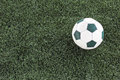 Artificial grass soccer field green for background Royalty Free Stock Photo