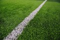 Artificial Soccer Field Stock Image