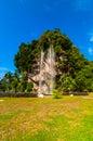Artificial waterfall this located at tambun ipoh perak malaysia Stock Image