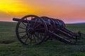 Artillery at Antietam National Battlefield Royalty Free Stock Photo