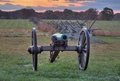 Artillery in Gettysburg Royalty Free Stock Photo