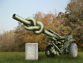 Artillery Gun Stock Photo