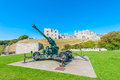 Artillery gun Royalty Free Stock Photo