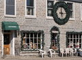 Artiques Christmas Shop in Merrickville Stock Images